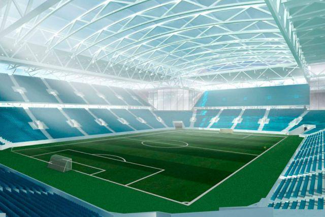 По задумке проектировщиков у стадиона «Арена Балтика» будут сменные поля и раздвижная крыша.