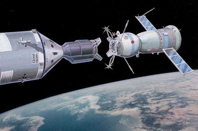 Корабли «Аполлон» и «Союз-19». Реконструкция.