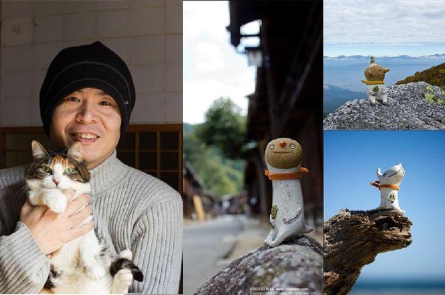 Японский художник Рюки Фукао и его работы.