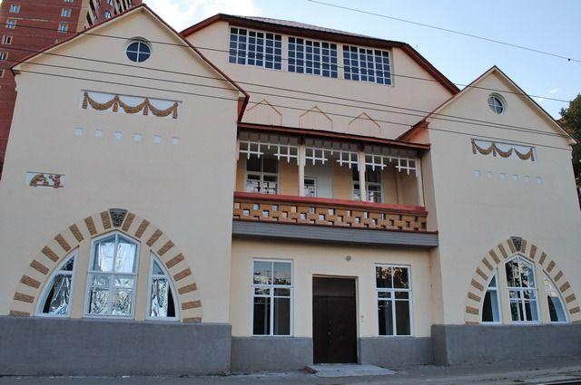 Школа огнестойкого строительства 1910-е гг