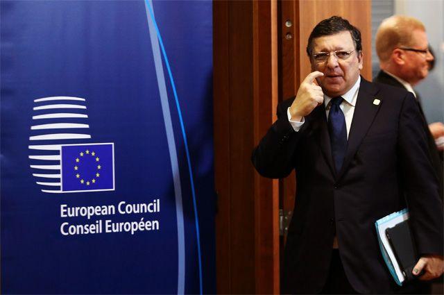 Председатель Европейской комиссии Жозе Мануэль Баррозу.