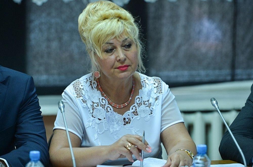 Татьяна Заболотная - куратор Яковлевского района.