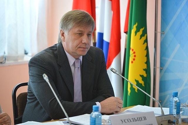 Первый вице-губернатор края Василий Усольцев.