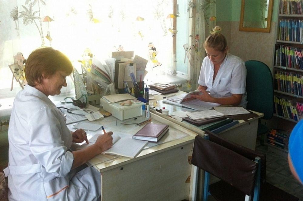 Медики Новосысоевского поселения обратились к главе региона с просьбой установить пластиковые окна.