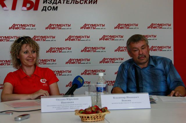 Оксана Никонова и Владимир Воякин