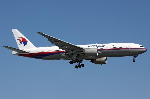 На месте падения боинг 777 обнаружено