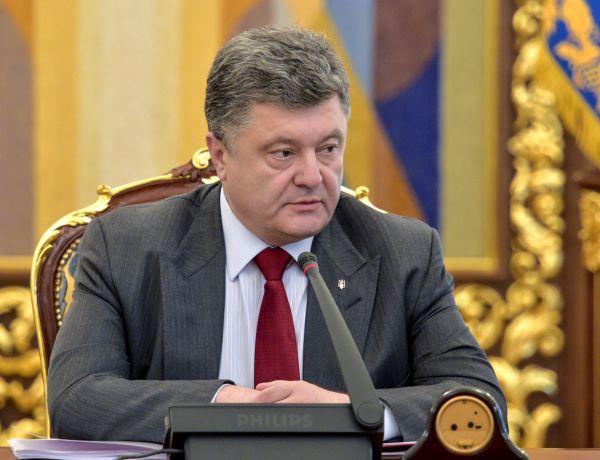 Петр Порошенко обсуждает с представителями СНБО актуальные вопросы