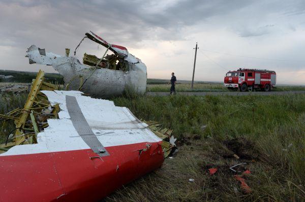 Самолет сбили на высоте 10 600 м