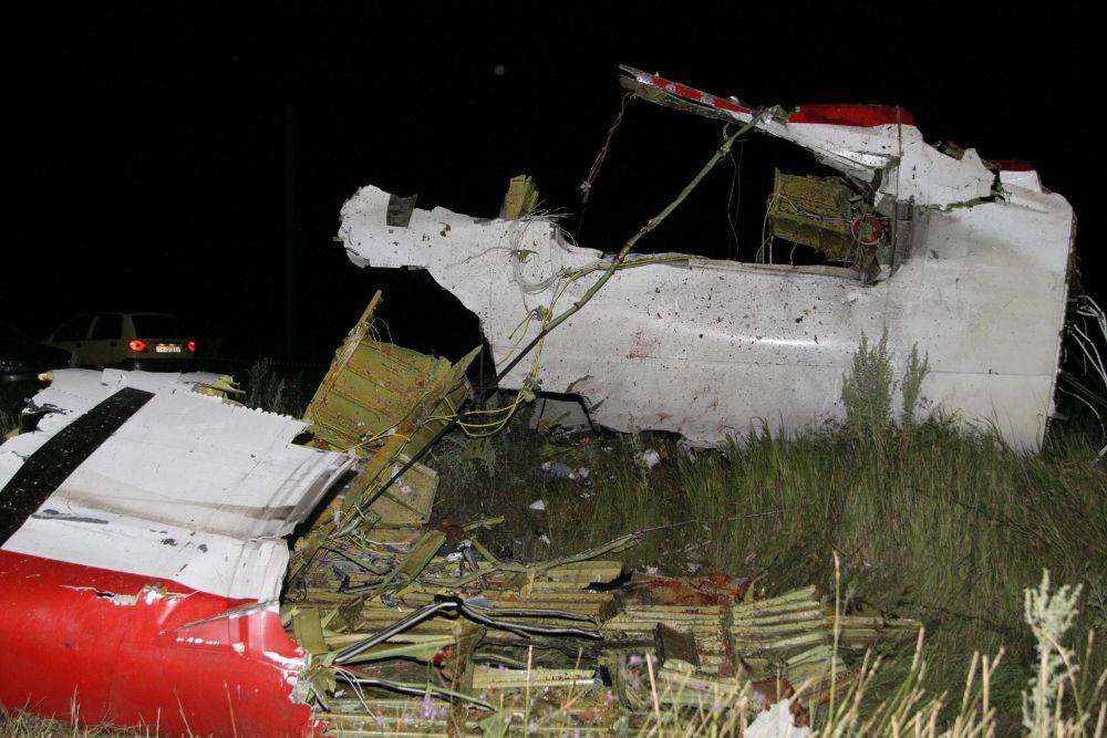 Обломки «Боинг-777» находили в радиусе 4 км от места падения