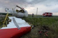 Обломки «Боинг-777» на Донбассе