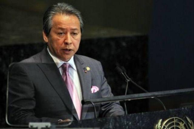Аниф Аман, министр иностранных дел Малайзии