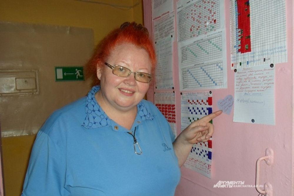 Старший воспитатель Елена Кумпан влюблена в свою работу.