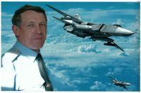 Владимир Горелкин, генерал-майор, заслуженный военный летчик РФ, военный летчик-снайпер.