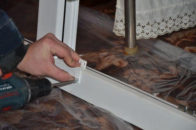Установка оконного профиля - только первый шаг к красивому окну в доме.