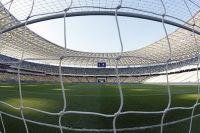 Камера за воротами на футбольных матчах