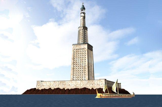 Фаросский маяк видео фото 243-21