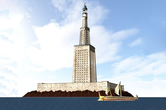 Рисунок маяка
