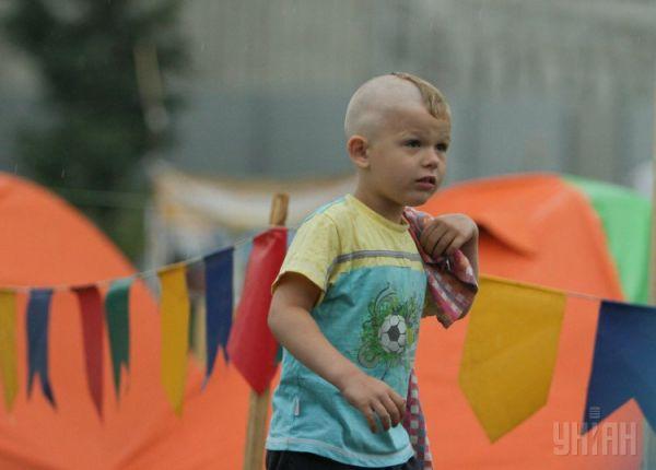 Участник всеукраинского сбора «Джура-2014: Хортица»