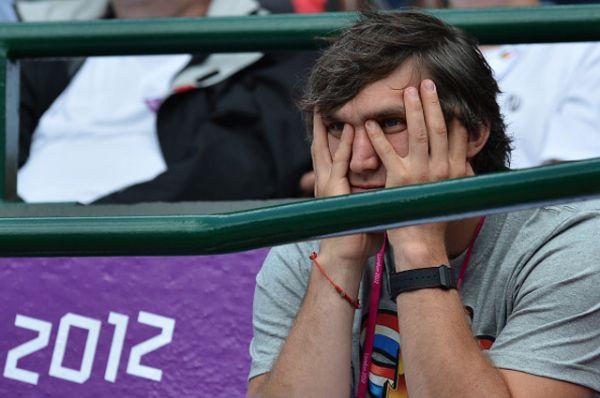 Овечкин болеет за Кириленко на Олимпиаде в Лондоне — лето 2012 года.