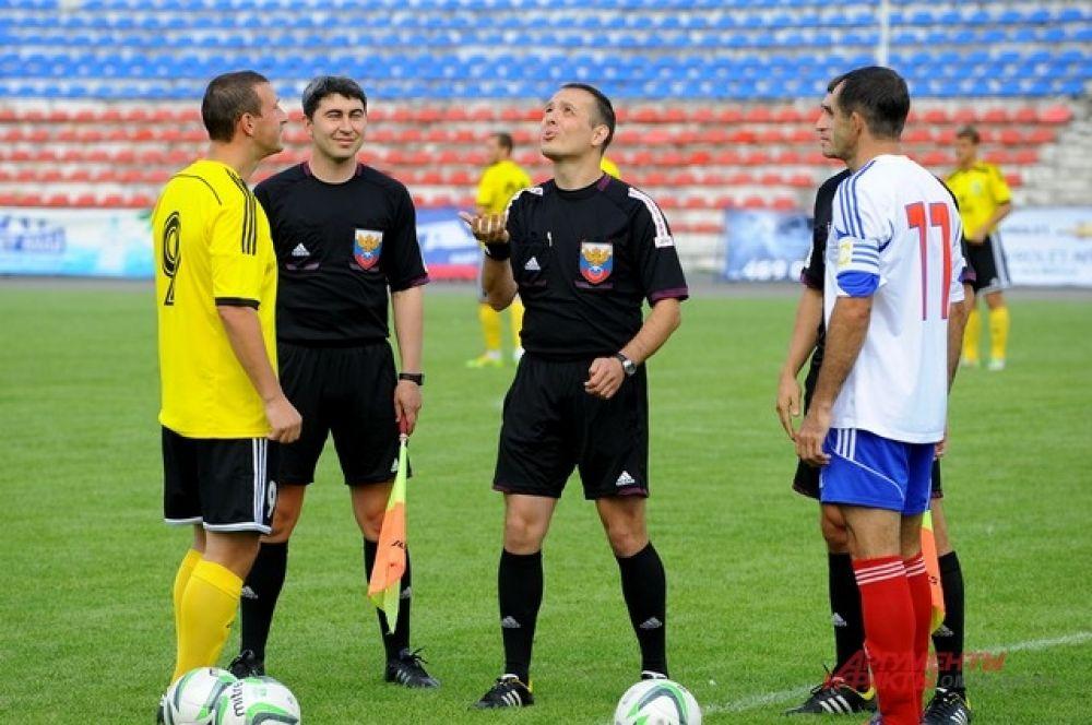 Футбольный матч «Иртыш»-«Металлург».