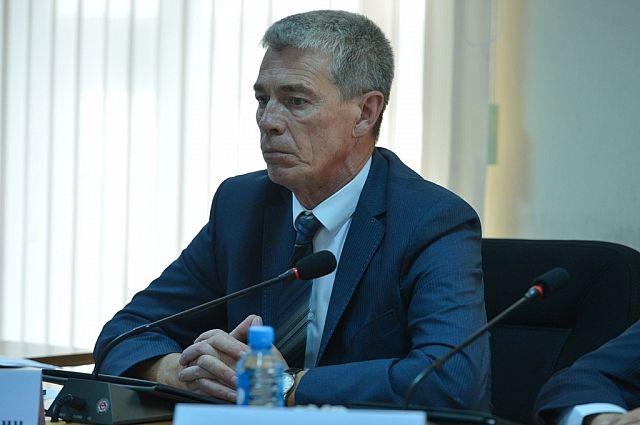 Вице-губернатор Александр Лось.