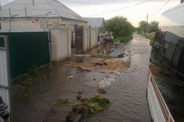 Порядка 200 домов были затоплены в результате проливных дождей в Златоусте