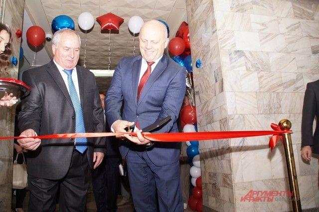 На открытии технопарка присутствовал губернатор Омской области Виктор Назаров.