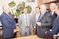 Виктор Назаров посетил открытие технопарка.