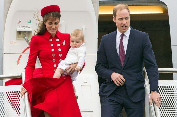 В апреле девятимесячный принц Джордж в рамках официального визита королевской семьи побывал в Новой Зеландии.