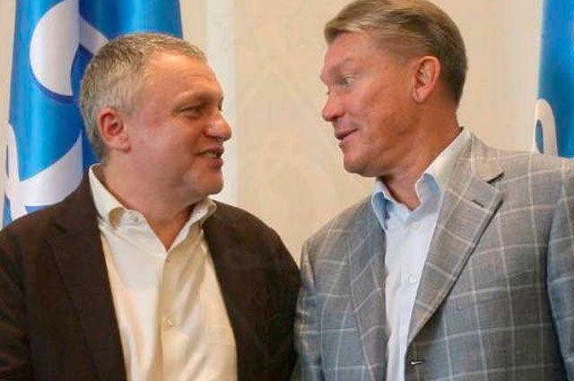 Игорь Суркис, Олег Блохин