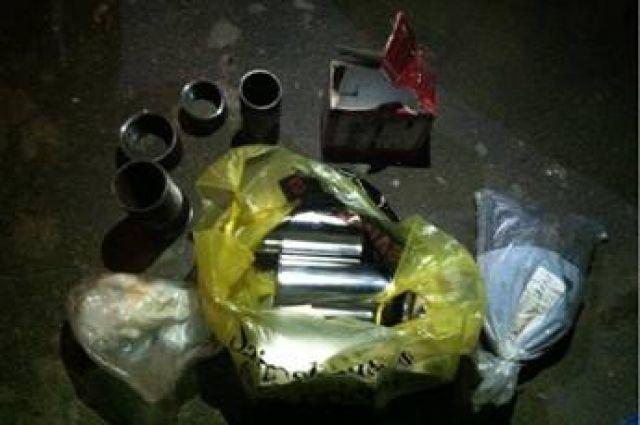 Изъятые взрывные устройства