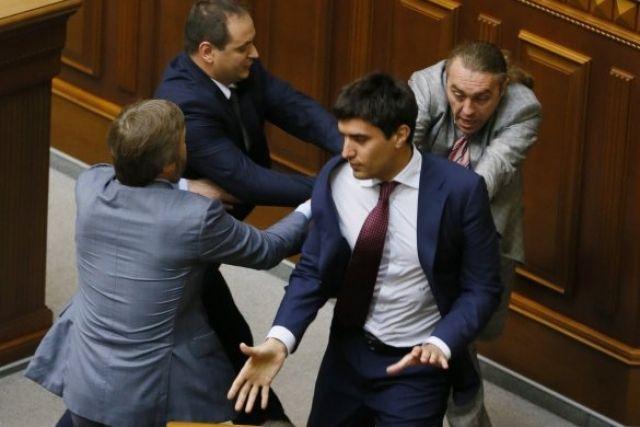 Драка в Раде, Николай Левченко
