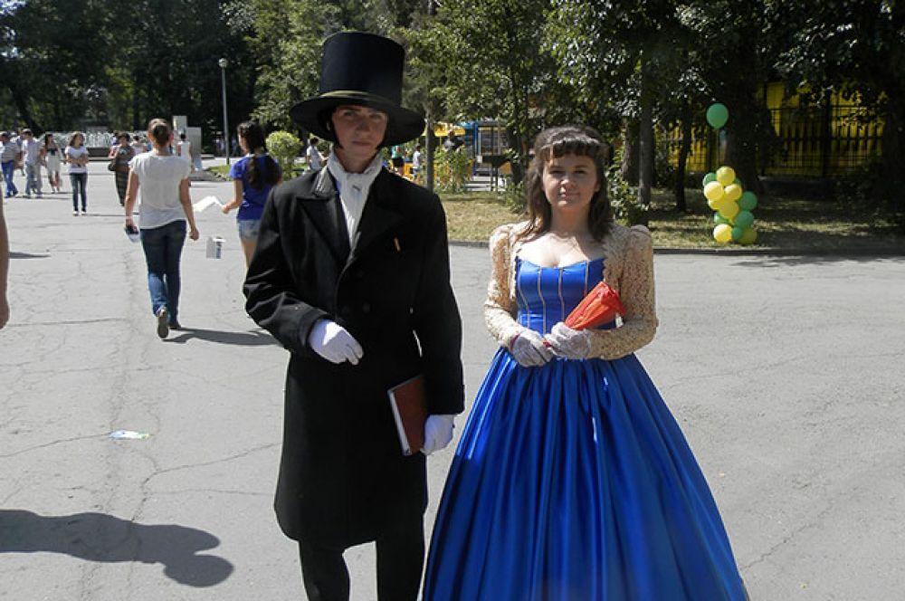 Липачне щеголяли в костюмах 19 века