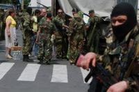 Боевики на Донбассе
