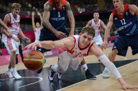 Тимофей Мозгов в матче со сборной Великобритании на Олимпийских играх в Лондоне. 2012 год.
