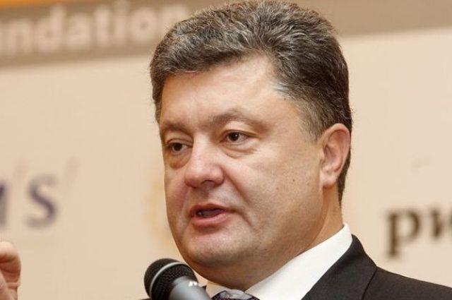 Петр Порошенко, президент Украины