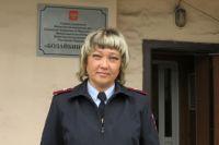 Майор полиции Инга Хорошева.