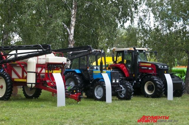 Техника - одно из основных направлений работы сельхозвыставки.