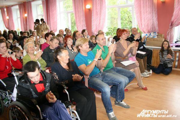 Андрей Рожков и Дмитрий Соколов не скупились на аплодисменты.