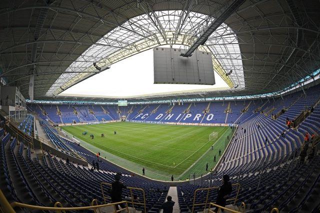 В июле «Днепр-Арена» не услышит гимн Лиги чемпионов