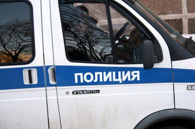 Полиция прибыла на место происшествия.