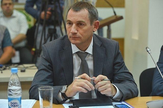 Вице-губернатор Алексей Сухов.