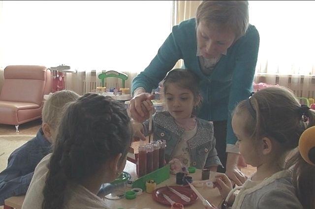 Новые детский сад откроется для омских дошкольников.