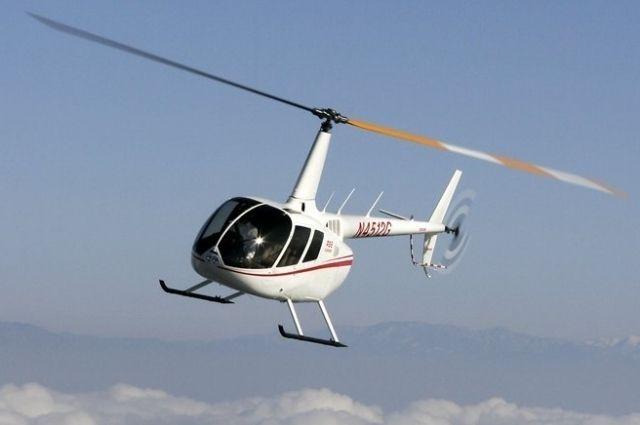 Вертолёт «Robinson».