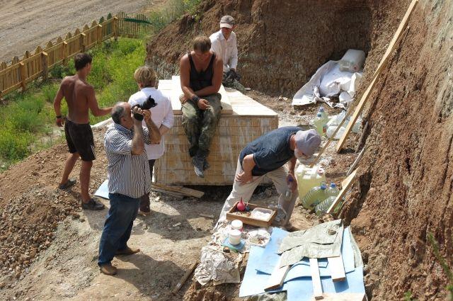 Пять скелетов найдены в Шестаково в этом сезоне.