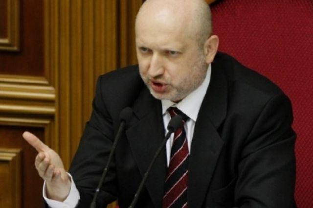 Александр Турчинов, спикер Верховной Рады