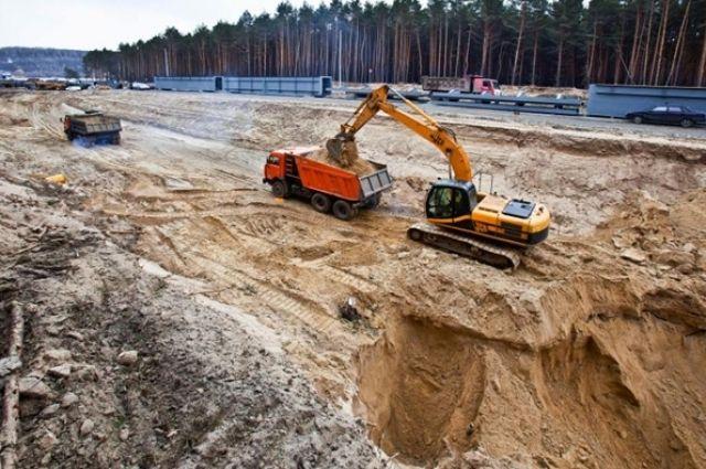 В Омской области активно занимаются добычей полезных ископаемых.