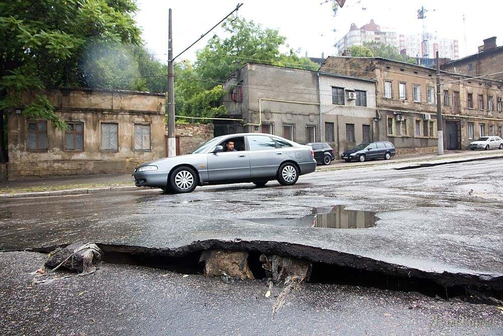 Последствия непогоды в Одессе