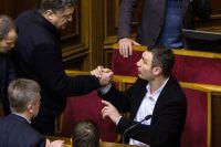 Виталий Кличко и Пётр Порошенко.