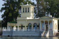 Царицын павильон в Петергофе.